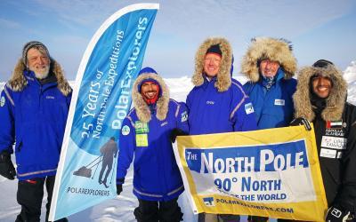 Členové lyžařské expedice