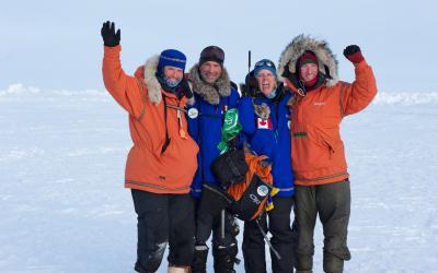 Severní pól je dobyt!