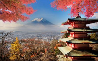 Japonsko - Fuji