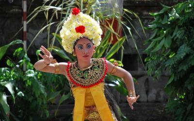 Tanečnice | Indonésie