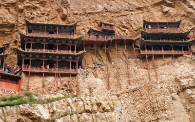 Datong - Visutý chrám