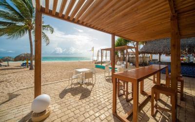 bar u pláže