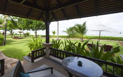 Beach Villa - terasa