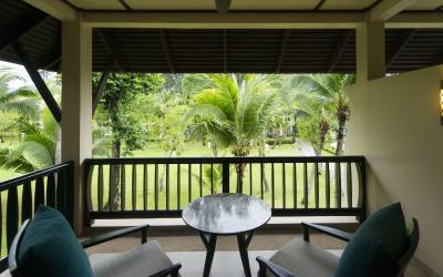 Garden Pavilion - balkon