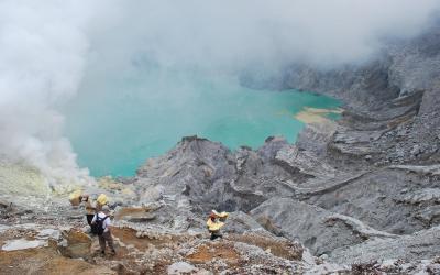 Iljen nosiči | Indonésie
