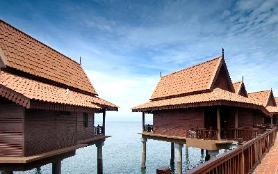 0 Berjaya-Langkawi-Resort-Premier Chalet on Water – Facade at Day