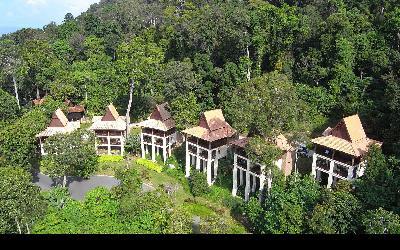 Berjaya-Langkawi-Resort-Premier Chalet - Facade Rainforest View