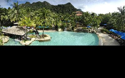 Berjaya-Langkawi-Resort-Recreation - Swimming Pool Rainforest View