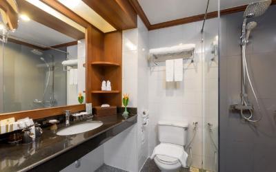 koupelna pokoj deluxe