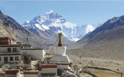 Nepál | Rongphu Monastery