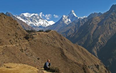 Nepál hory