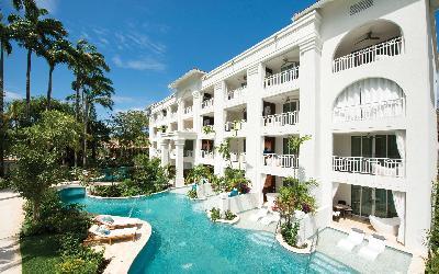 Crystal Lagoon suites   760 Sandals Barbados