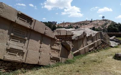 Axum obří obelisk | Etiopie