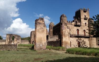 Gondar palác Ras Gimb | Etiopie
