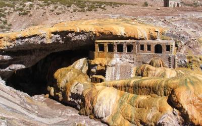 Argentína | Puente del Inca