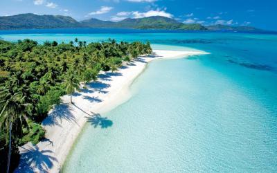 Pláž na Bora Bora