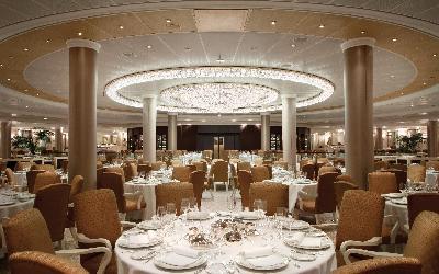 Hlavní restaurace lodi