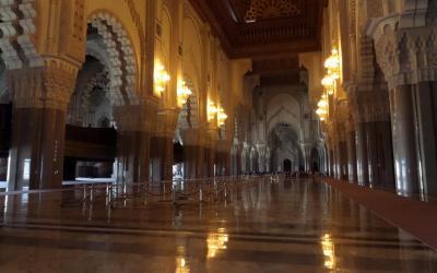 Mešita Hassana II. interiér | MarokemMaroko