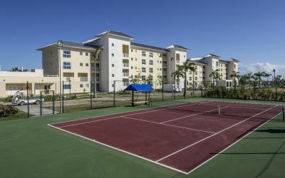 Pista de Tenis - Condominio Vista Mar
