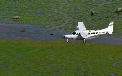 Letadlo Cessna 208B Grand Caravan | Keňa