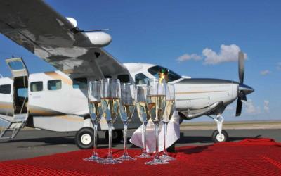Nástup do letadla | Keňa