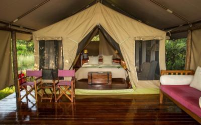 Karen Blixen camp, Masai Mara | Keňa