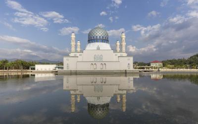 India | Masjid Bandaraya In Kota Kinab