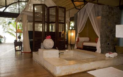 koupelna pokoje Executive | 492 Princesse Bora Lodge