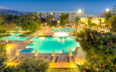 osvětlené bazény