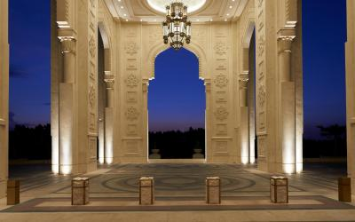 Waldorf Astoria Ras Al Khaimah - vstupní hala