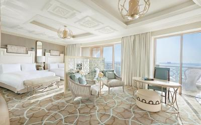 Waldorf Astoria Ras Al Khaimah - Family Deluxe room with Sea View and Balcony