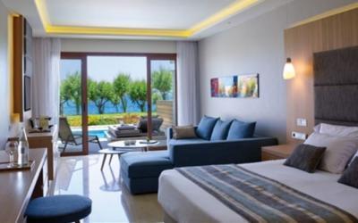 pokoj junior suite beachfront swim up