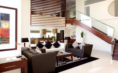 Ramada Plaza Jumeirah Beach Residence - Loft Suite - obývák