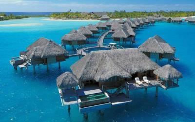 Otemanu Overwater Bungalow Suite s bazénkem