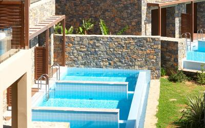 pokoj Deluxe Ocean View Private Pool