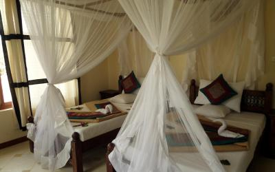 Pokoj Salme Sea View v přízemí | Zawadi Beach Villas Matemwe