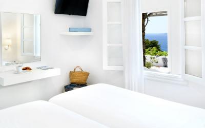 pokoj 2 bedroom suite s výhledem na moře