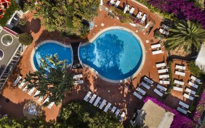 bazén z výšky