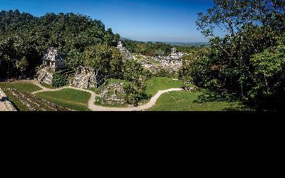panoramique de la cité de palenque AdobeStock_53209830