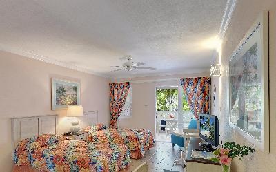 pokoj superior studio s výhledem do zahrady   760 Butterfly beach