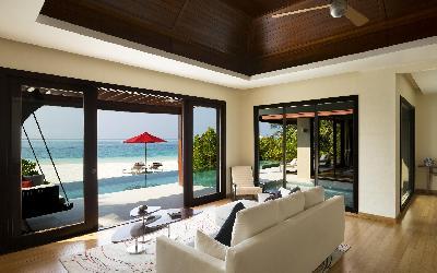 Beach Pavilion Livingroom