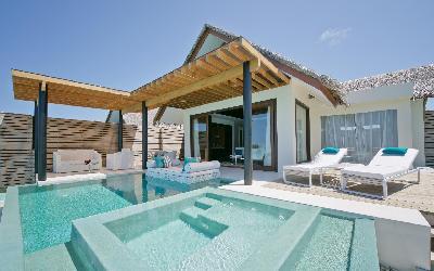 Deluxe Water Studio with Pool exterior