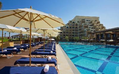 Bab Al Bahr - venkovní bazén