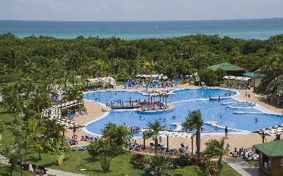 aerial view swimming pool