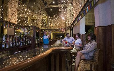 Lobby bar at night 2