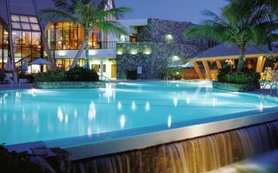 JA Palm Tree Court Spa - venkovní bazén