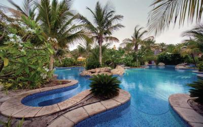 Jumeirah Beach Hotel - Club Executive - klubový bazén