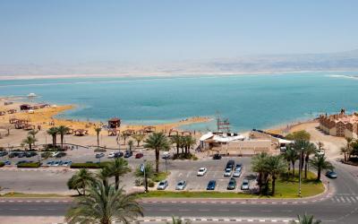 Oasis Dead Sea - hotelový výhled