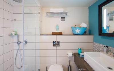 Herods Dead Sea - Deluxe Room - koupelna