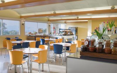 Prima Music Hotel  - jídelna